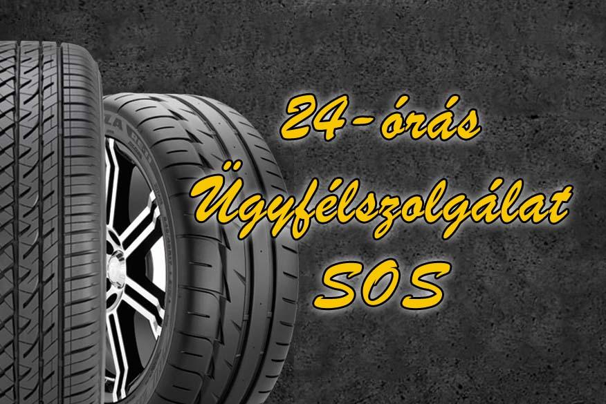 Mobil gumiszerviz 24-órás Ügyelet SOS